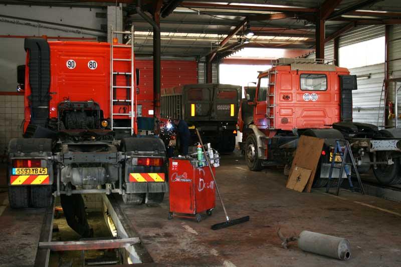 Transport jamet for Garage de la zone